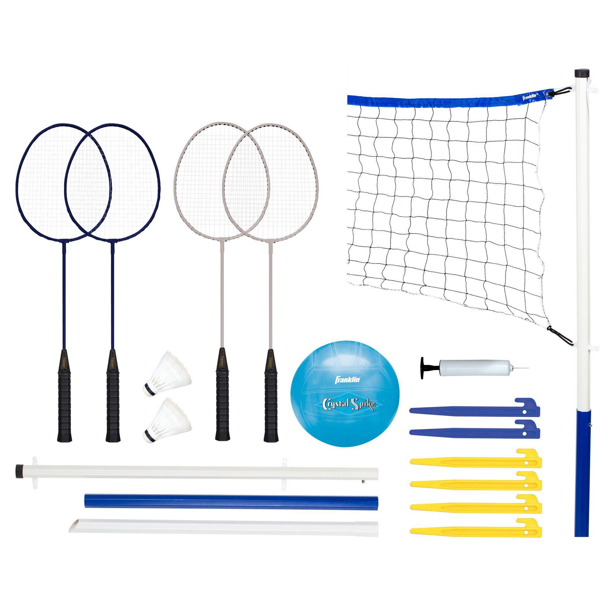 Lifetime Outdoor 3 Sport Set In 2020 Badminton Tennis Nets Badminton Set