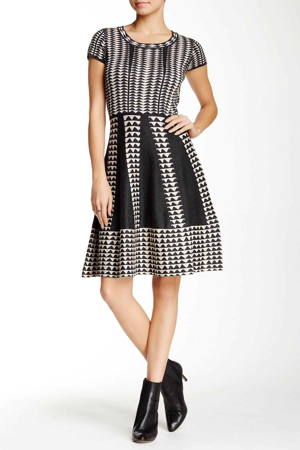 b1f7f7cf77 Short Sleeve Sweater Dress