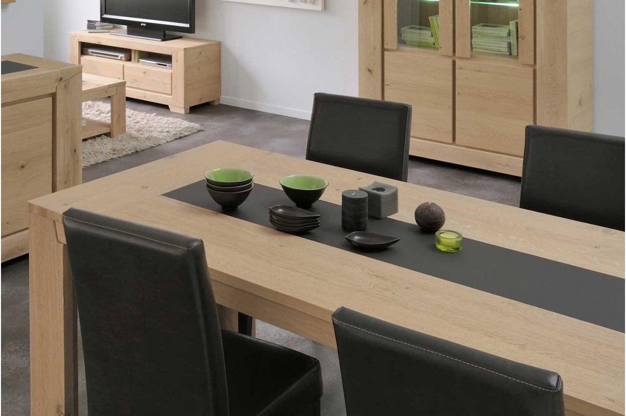 Table En Bois Chene Clair table à manger 190 cm bois chêne clair - trendymobilier
