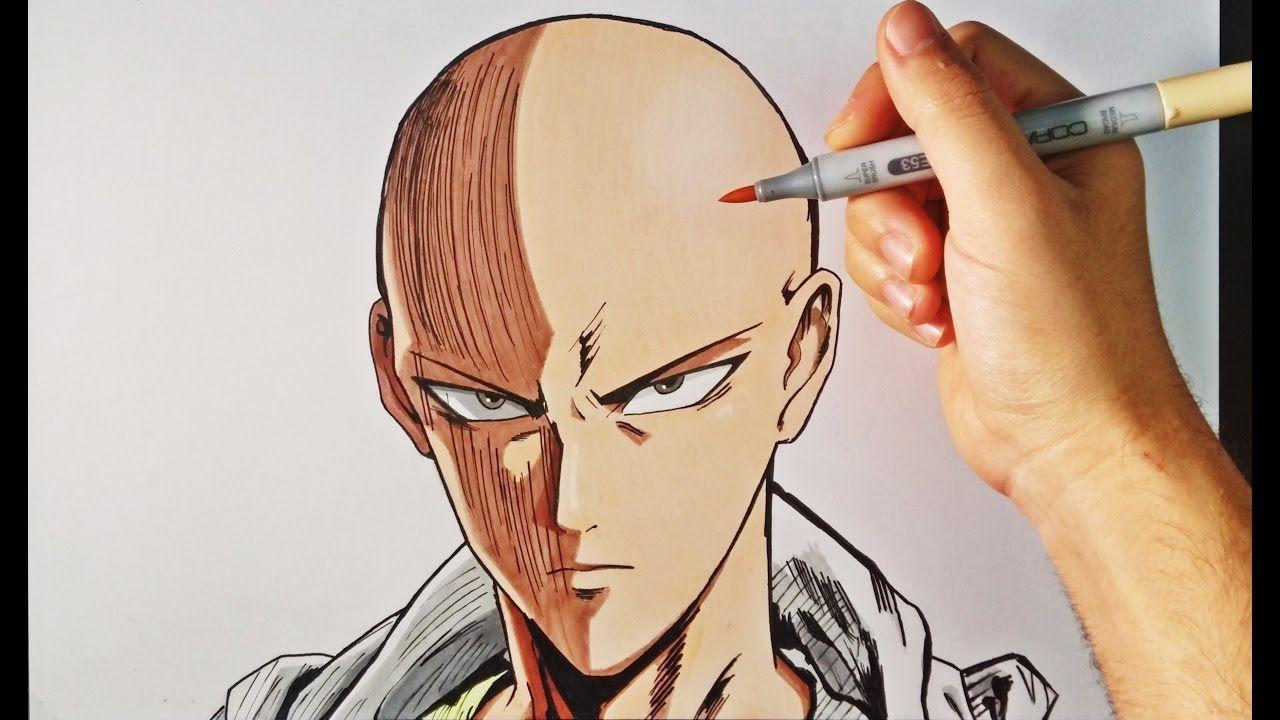 Como Dibujar A Saitama One Punch Man How To Draw Saitama One Punch Saitama One Punch Man One Punch Man Como Dibujar