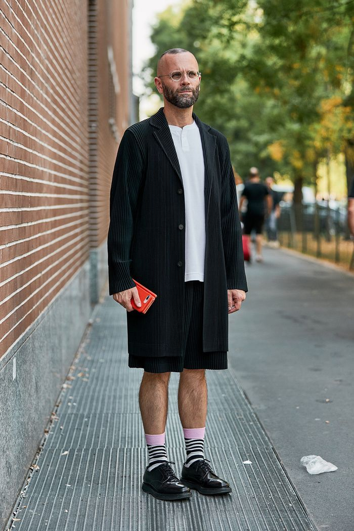All the Ridiculously Well-Dressed Men at Fashion W