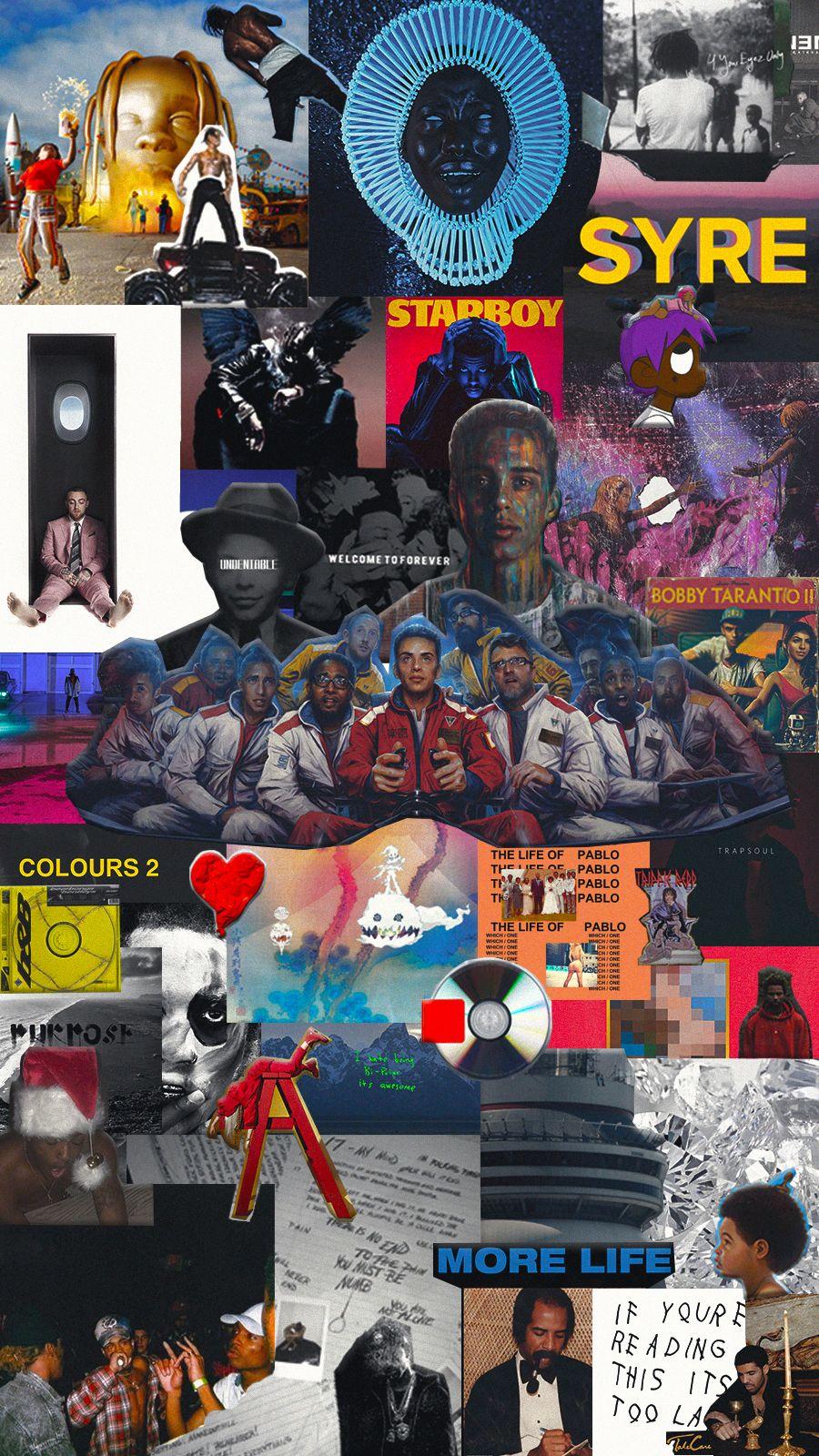 45 albums combined wallpaper