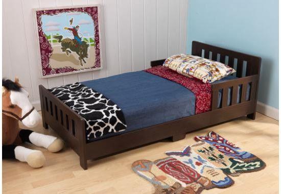 Charleston Toddler Bed - Espresso | Baby Boy Bedding | Pinterest