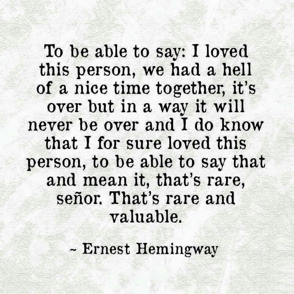 Hemingway Quotes On Love Entrancing Pinjeannie Robinson Jones On Quotes  Pinterest