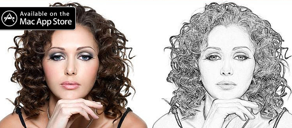 Free download! Turn your photos into a pencil sketch! Wow