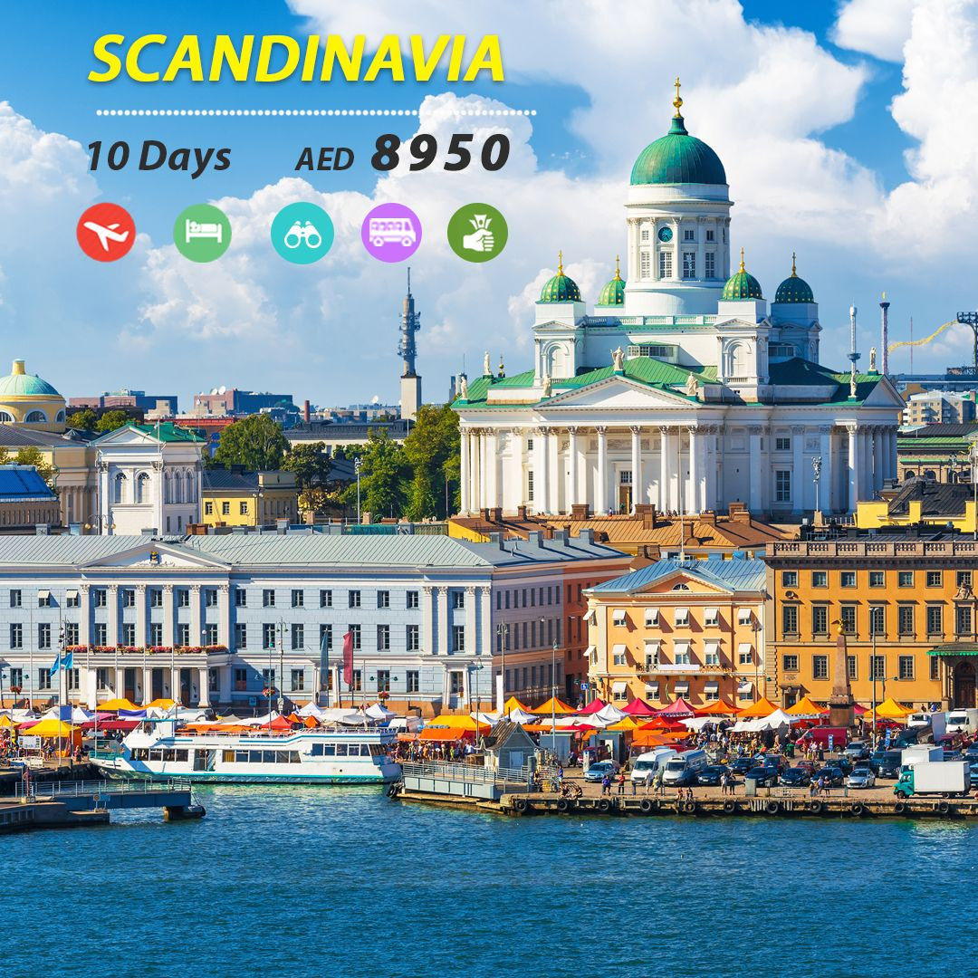 Scandinavia Tour From Dubai Budget Holidays Family Explore Holiday Packaging