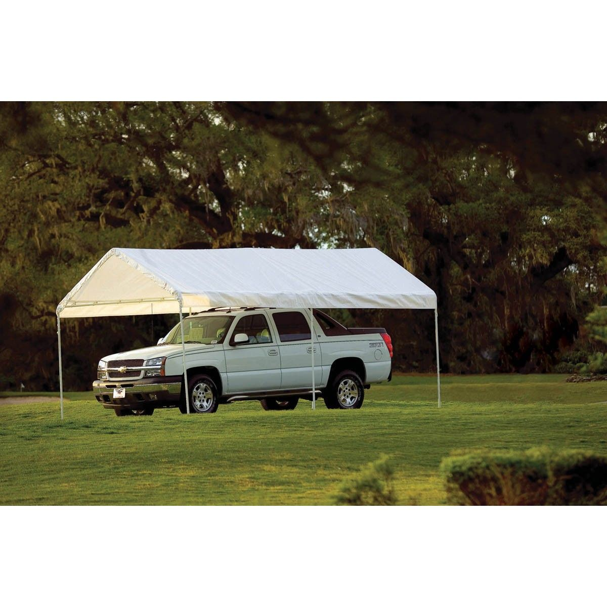 10 ft. x 20 ft. Portable Car Canopy | Car canopy, Canopy ...