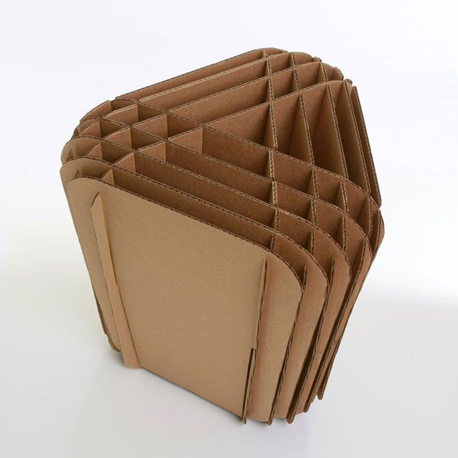 21 Pieces Of Furniture Made From Cardboard (Yes, Seriously!) Via Brit +