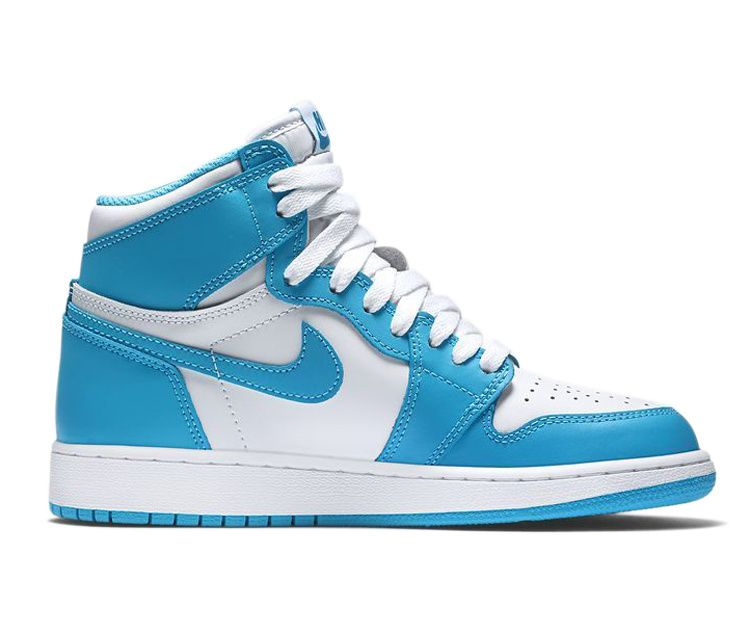 Nike Air Jordan 1 Aj1 High Og Retro Unc Blue White Women Men Air