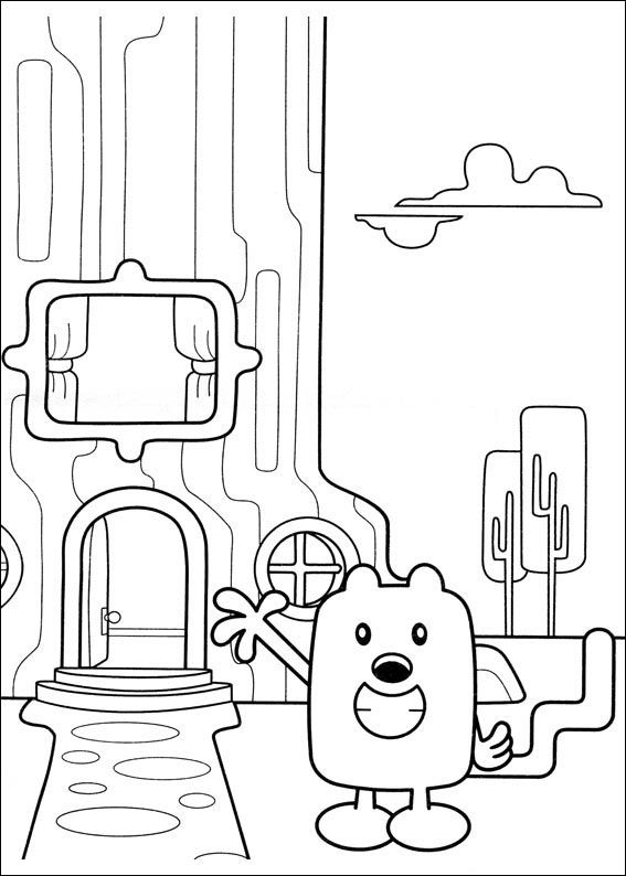 Wow Wubbzy Coloring Pages 25