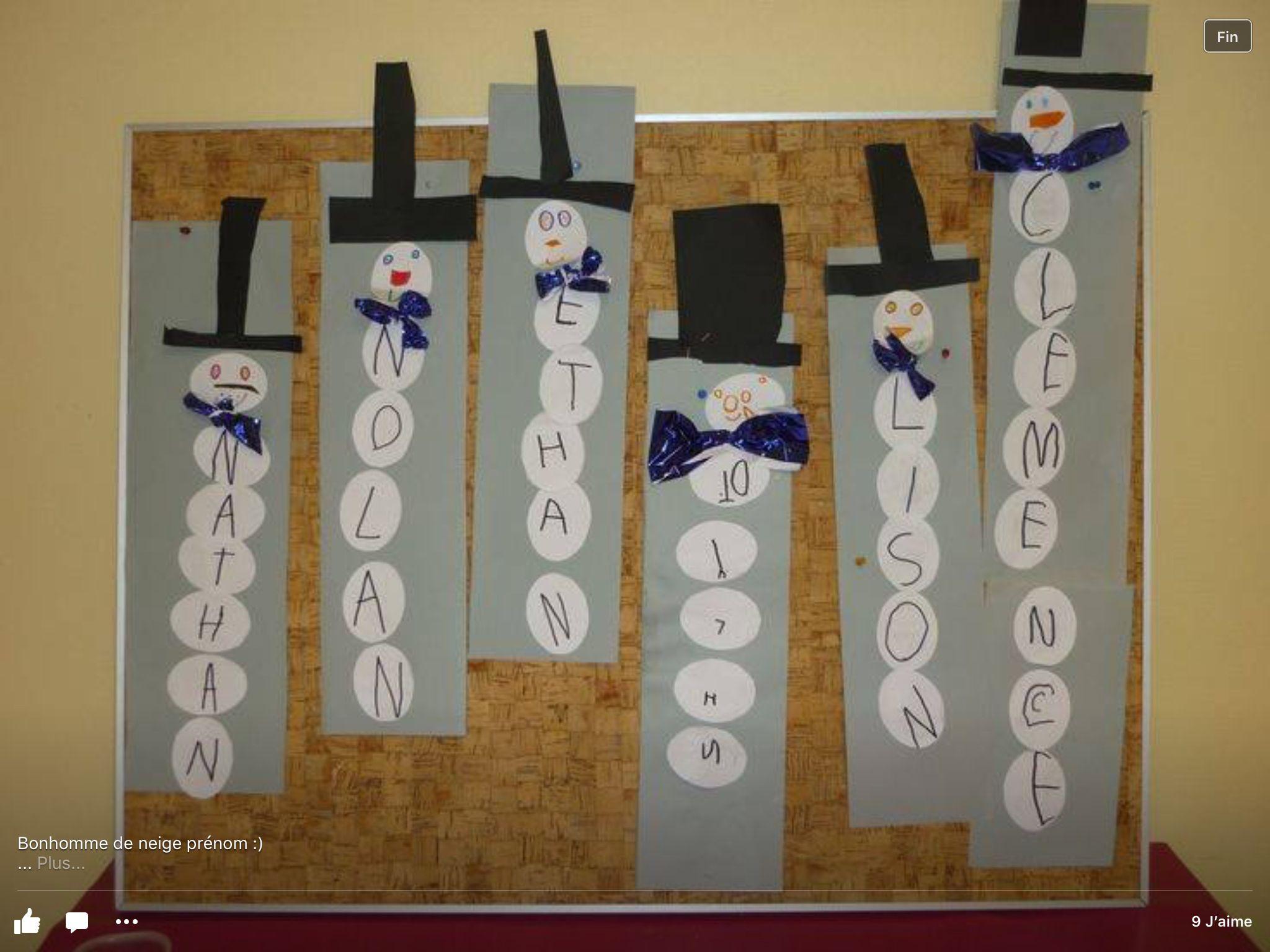 Bricolage hiver maternelle my blog - Pinterest bonhomme de neige ...