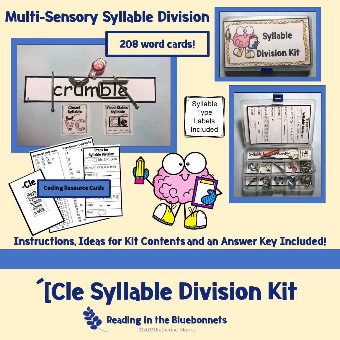 Cle Syllable Division Kit