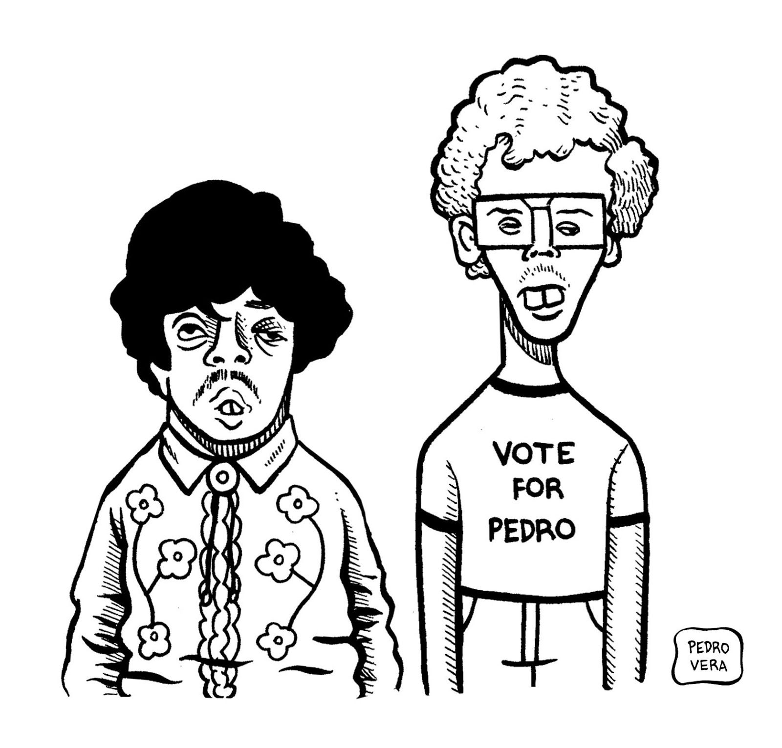 Napoleon Dynamite Prom Drawing