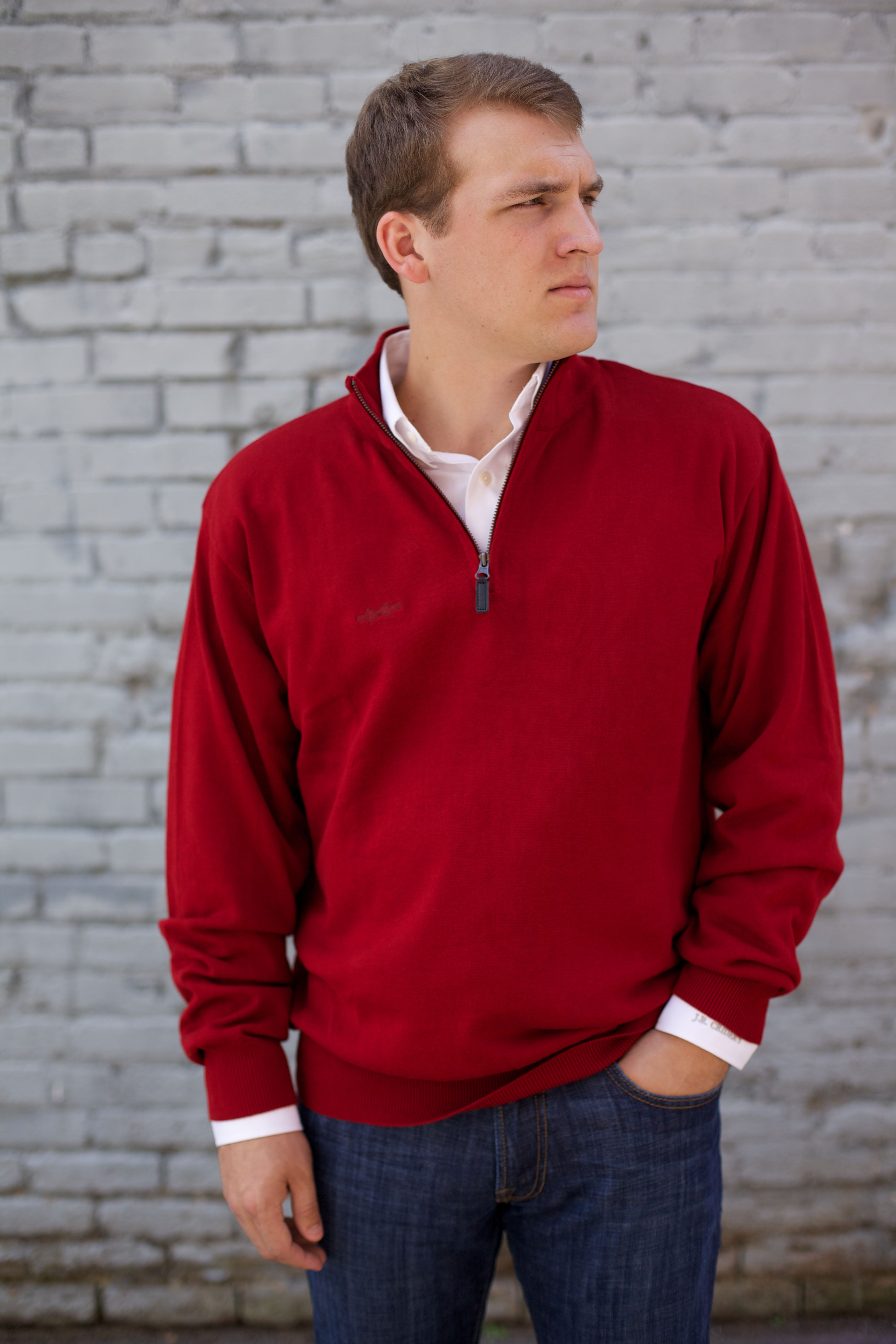 The 1/4 Zip Bow Tie Pullover in Red | Lifestyle | Pinterest | Pullover