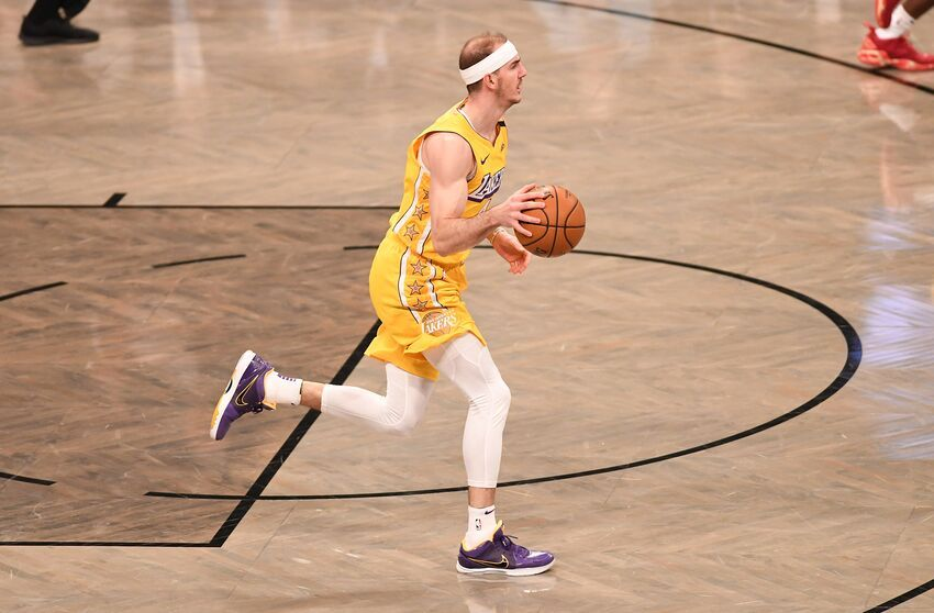 Los Angeles Lakers Rumors Teams Inquiring About Availability Of Alex Caruso In 2020 Los Angeles Lakers Lakers Caruso