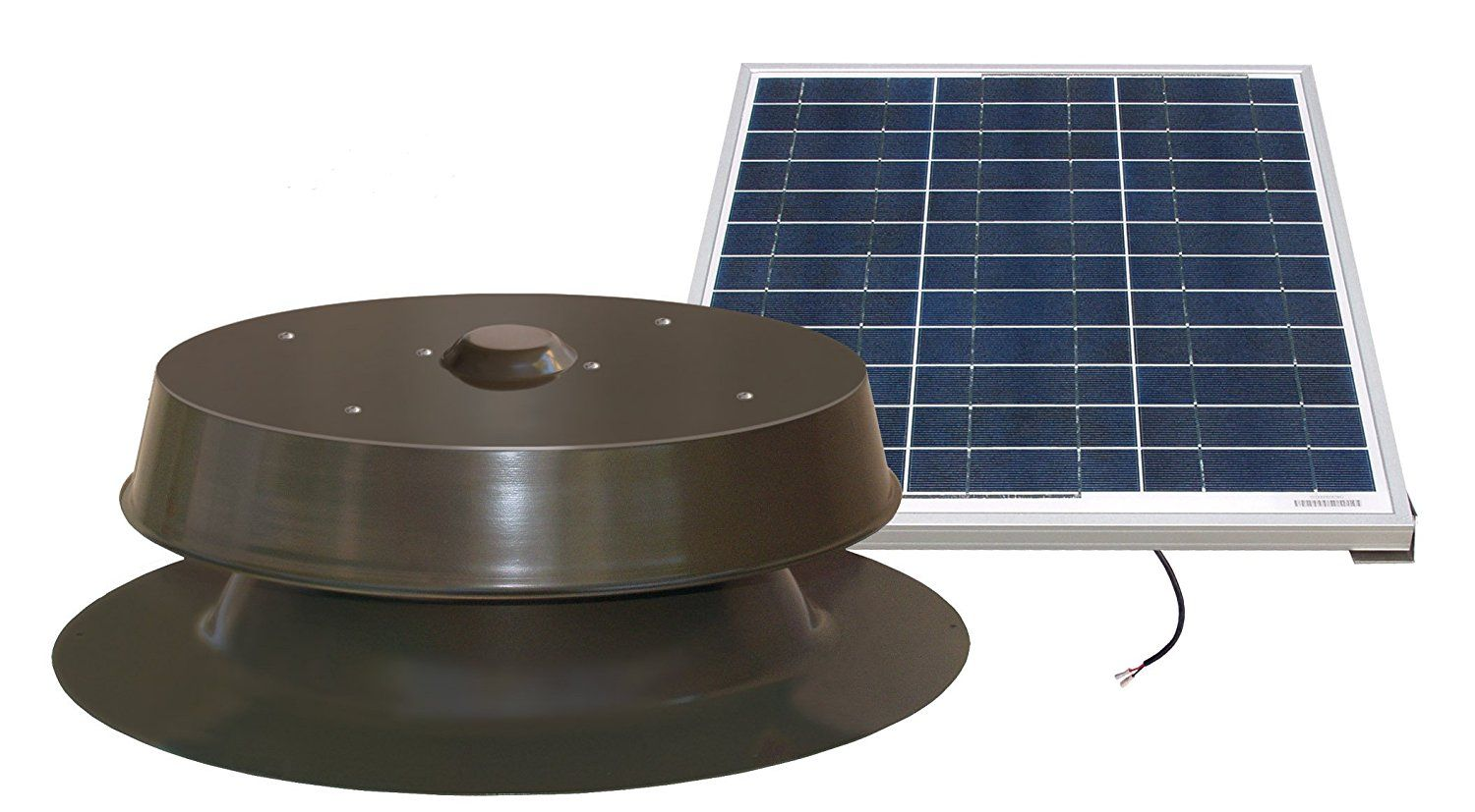 Natural Light Solar Attic Fan 60 Watt Bronze More Info Could Be Found At The Image Url Solar Attic Fan Tesla Solar Roof Solar