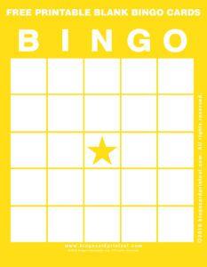 Bingo Card Printables To Share Bingo Card Template Bingo Cards Printable Bingo Cards Printable Templates