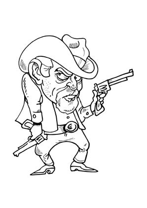 Pin Auf Ausmalbilder Cowboys