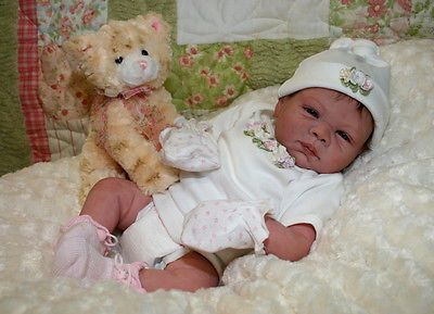 "Paisley reborn kit by Denise Pratt 3/4 arms & legs, makes a 20"" infant"
