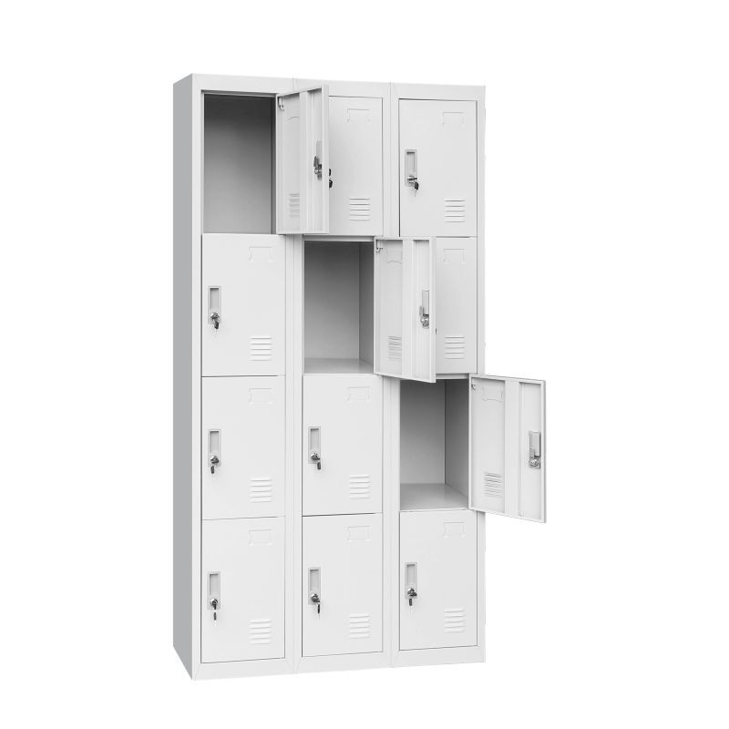 Twelve Door Office Gym Shed Storage Locker Locker Storage Shed Storage Storage