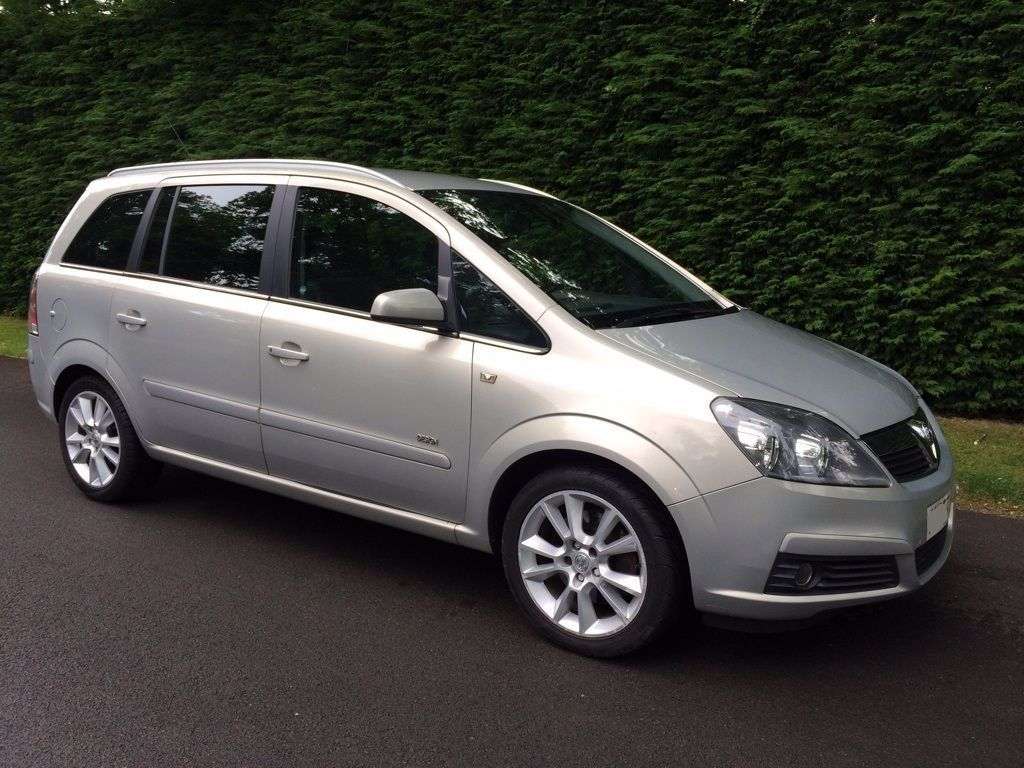 ZAFIRA DESIGN 7 SEATER MANUAL PETROL FINANCE AVAILABLE