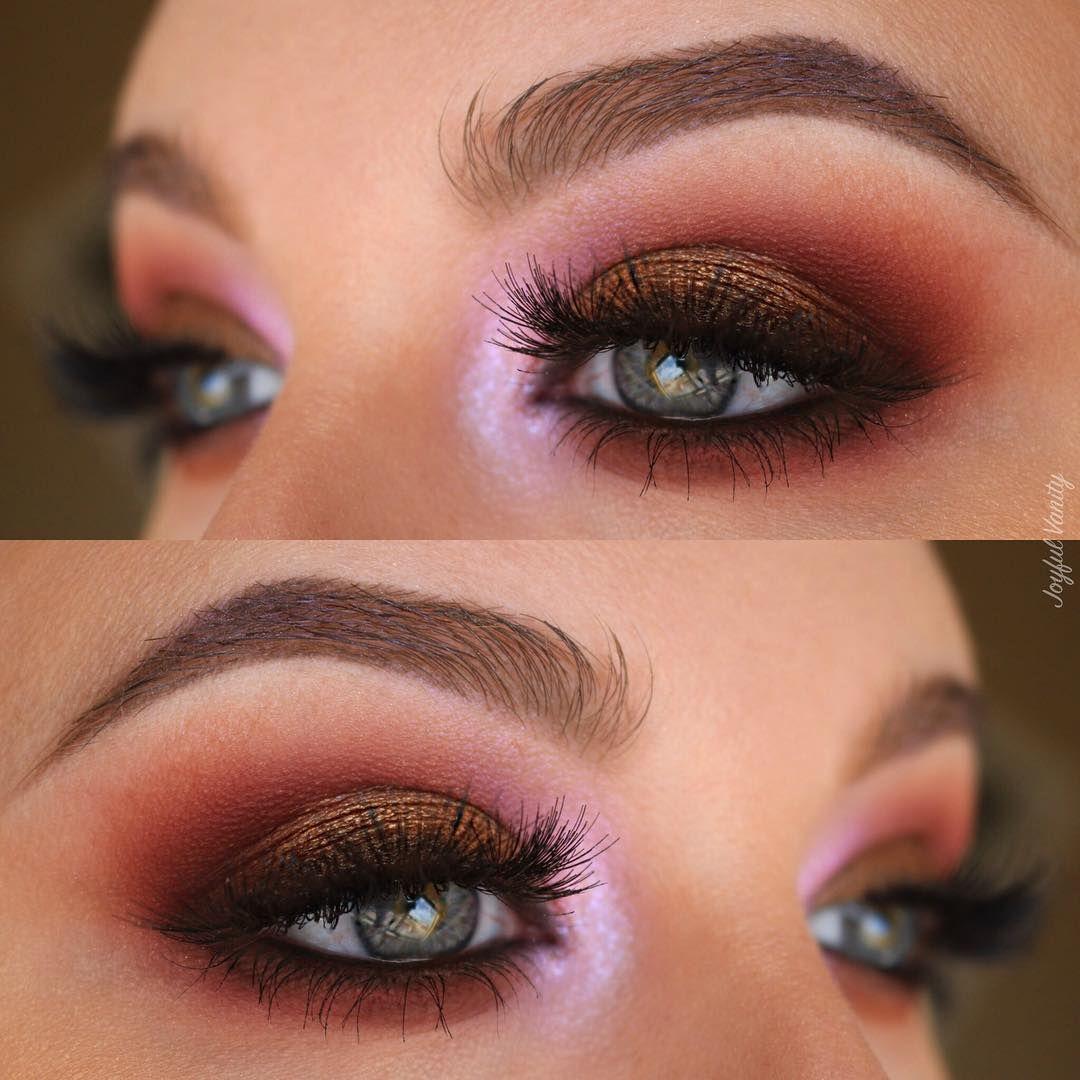 Heather Arndt joyfulvanity on IG Eye makeup, Maybelline
