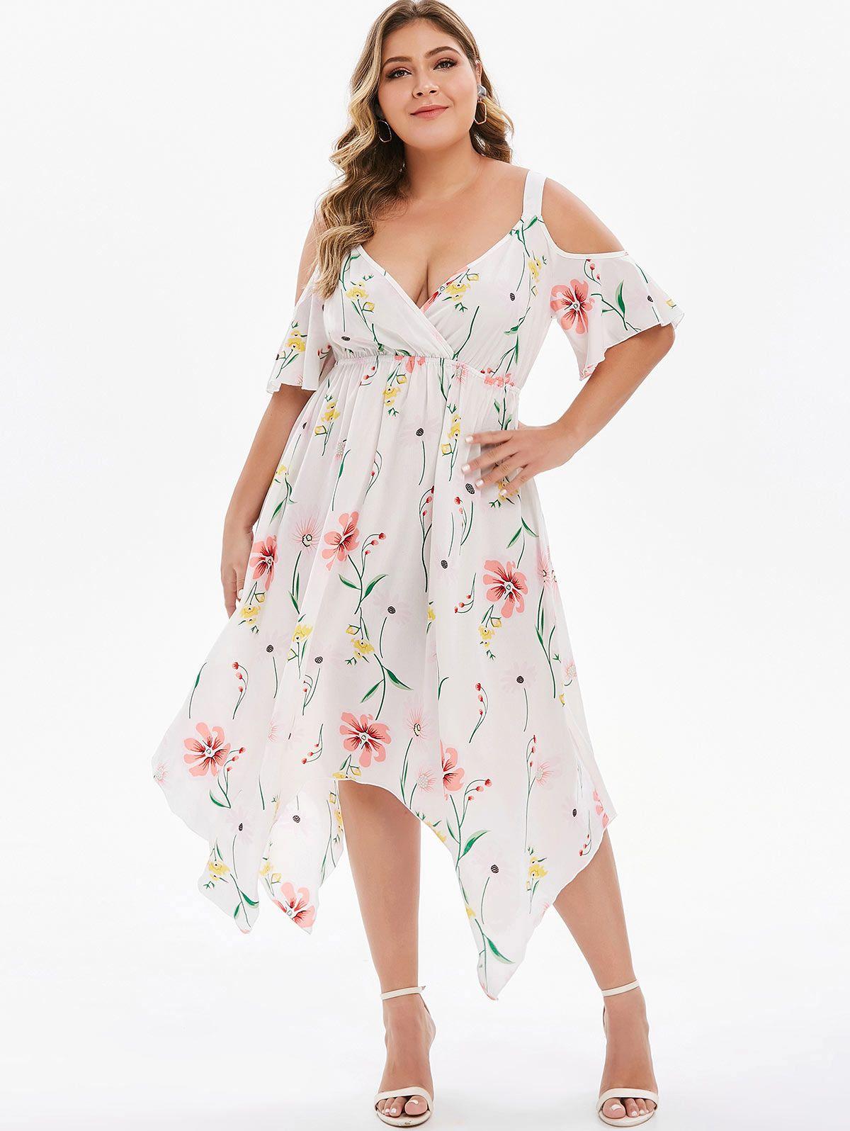 Dressfo floor length sleeveless plus size sundresses