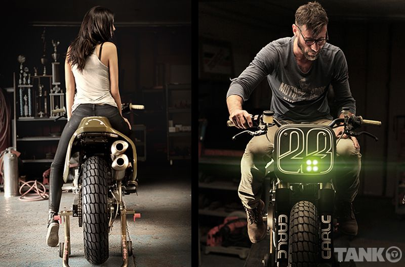 Ducati Monster Tracker Front And Back