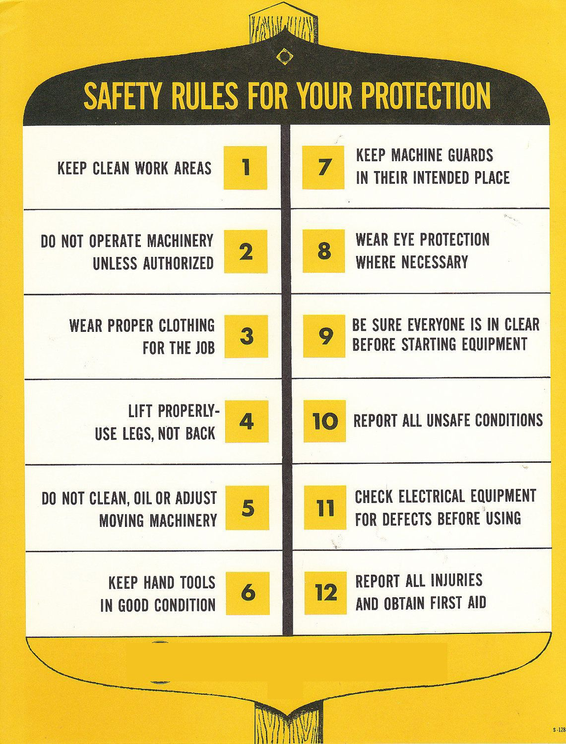 SAFETY RULES FOR YOUR PROTECTION greenwgroup Safety
