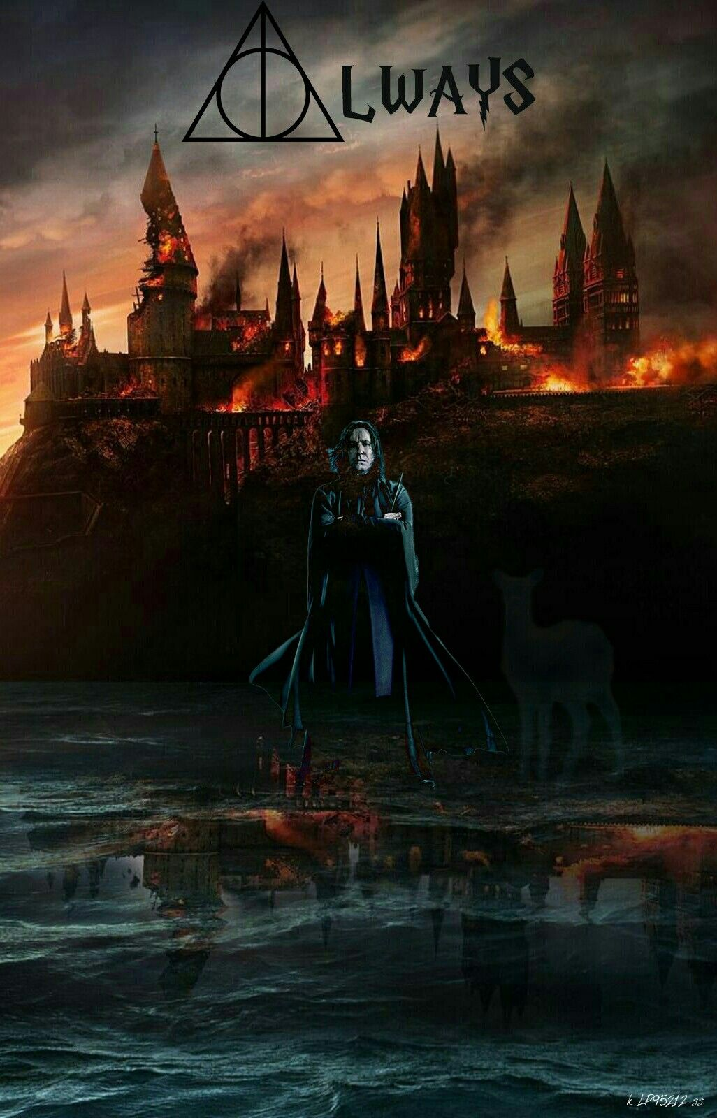 Always, Severus Snape , Harry Potter wallpaper, lp95212
