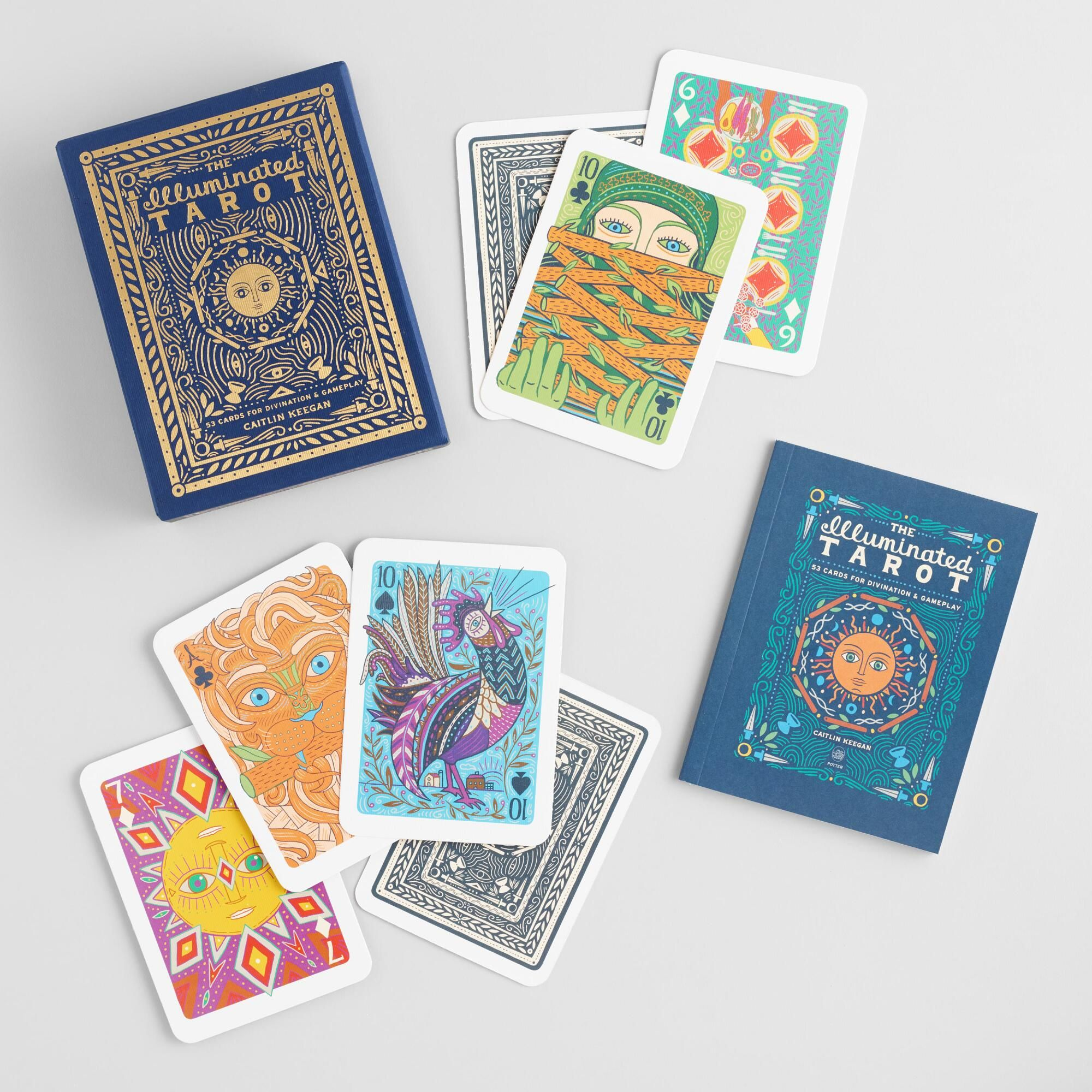 The Illuminated Tarot Playing Cards by World Market Fun