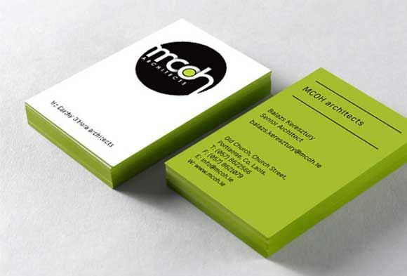 34 Architects Business Card Designs