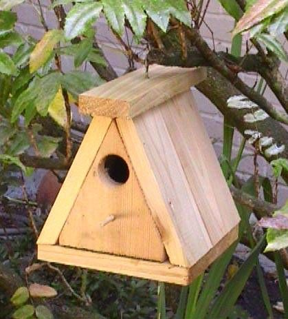 Homemade Bird Houses | ... bird houses . Only the unwanted house ...