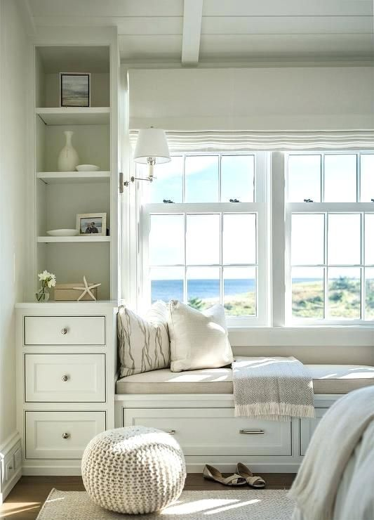 Superbe Bedroom With Window Seat Bedroom Window Seat With Beige Linen Cushion Very  Small Window Seat Ideas