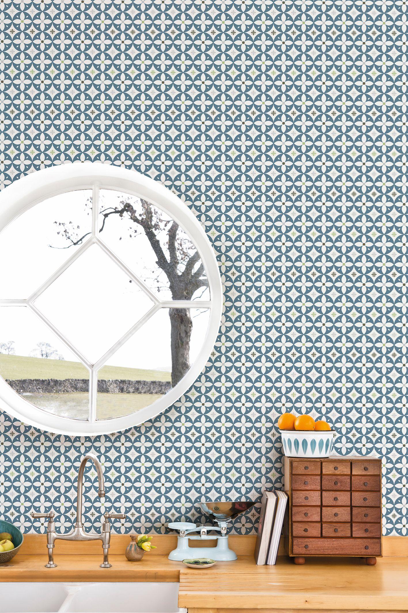 sweet home wallpaper designs. Flower Breeze wallpaper from Layla Faye www laylafaye com Retro modern and  mid century