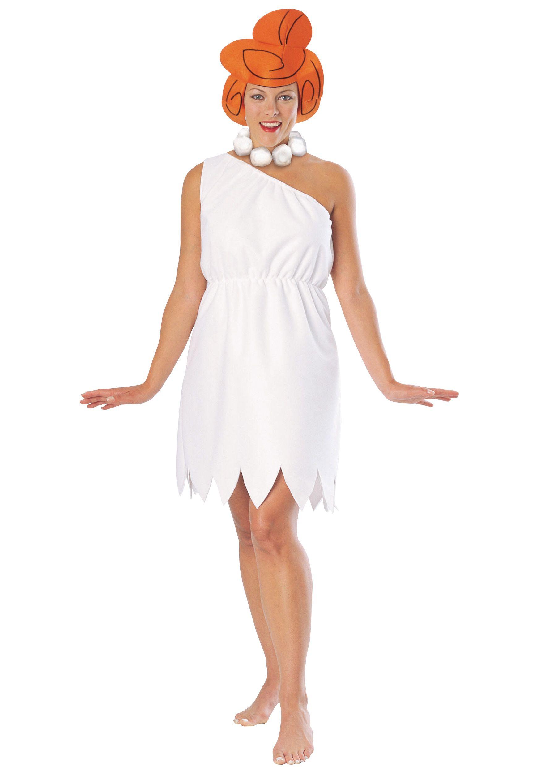 Adult Wilma Flinstone Costume...not the stupid hair tho | costume ...
