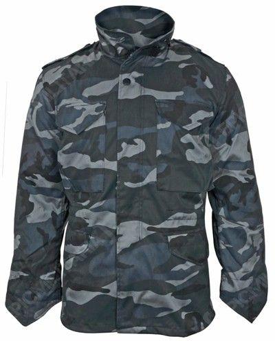 e203fefdddcd8 Dark Camo M65 Field Jacket | Camoflage Jacket | Field jacket, Camo ...