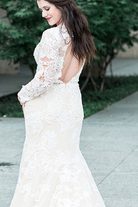 Blushing Bride in the City – Dallas PhotoShoot | Pinterest
