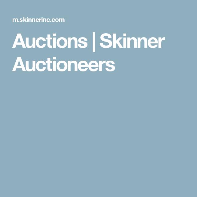 Americana online   Skinner Auctioneers