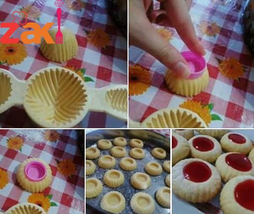 حلوة صابلي هشة و لذيذة كثير زاكي French Macaroon Recipes Eid Sweets Arabic Food