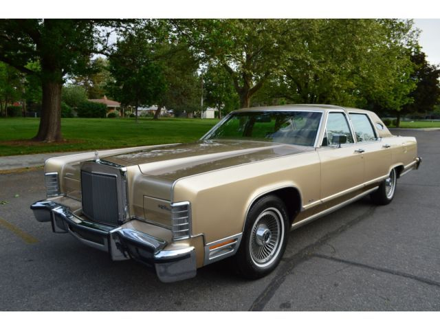 Jubilee Gold Lincoln Continental Classic Luxury Pinterest