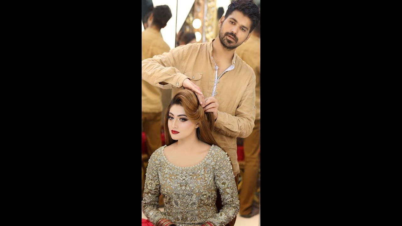 Kashees Artist Beauty Parlor Pakistani Party Make Up Hair Style