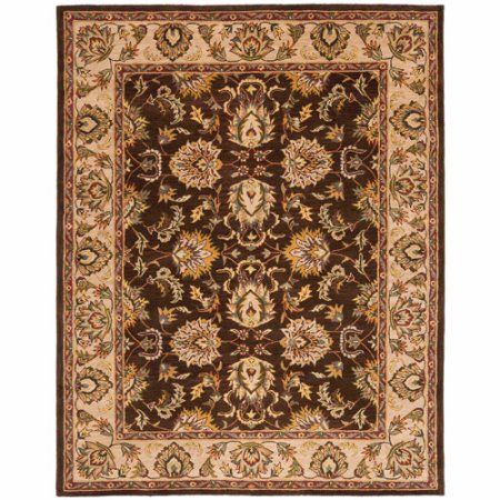 Safavieh Heritage Duncan Hand-Tufted Wool Area Rug, Brown