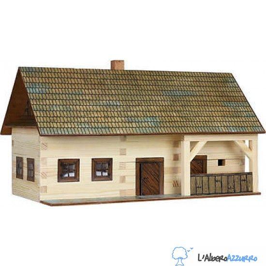 Walachia - Costruzioni in legno - N. 3 MASO CONTADINO - Hobby Kits | lalberoazzurro.net
