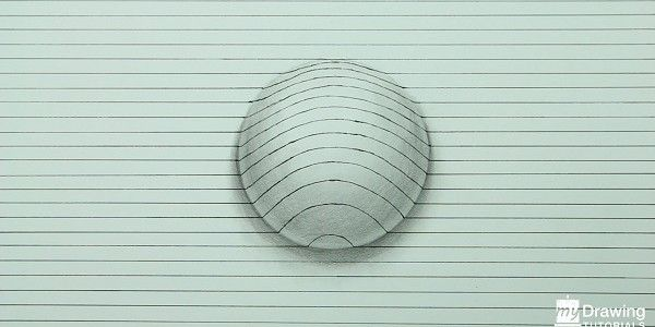 How To Draw A 3D Sphere (Narrated) - http://mydrawingtutorials.com/how-to-draw-a-3d-sphere/