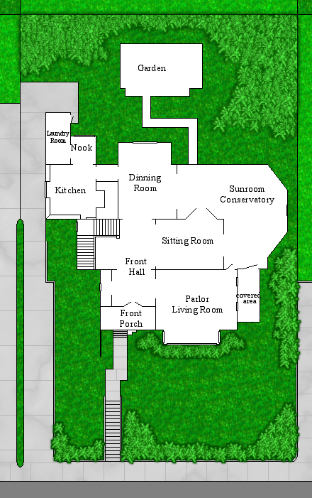 Halliwell manor grounds by notsalony on deviantart for Manor blueprints