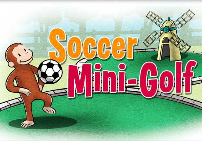 Soccer Mini Golf In This Fun Online Game Children Help Curious