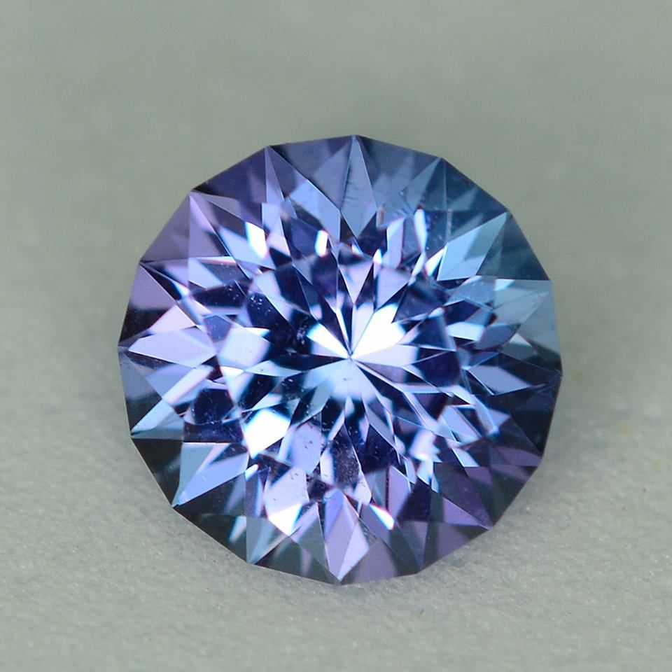 MJ2440 - 1.08ct Tanzanite - Tanzania 6.44 x 4.33 mm, clean, custom cut, standard heat , $235 shipping included