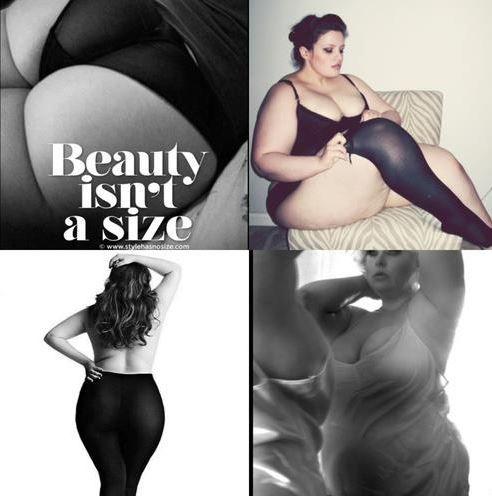 <3 Beauty isn't a size