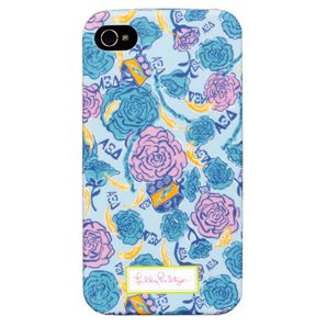 Lilly Pulitzer iPhone 4/4S Case - Alpha Xi Delta Sorority ... wait is this for real? WANT, including the iphone part
